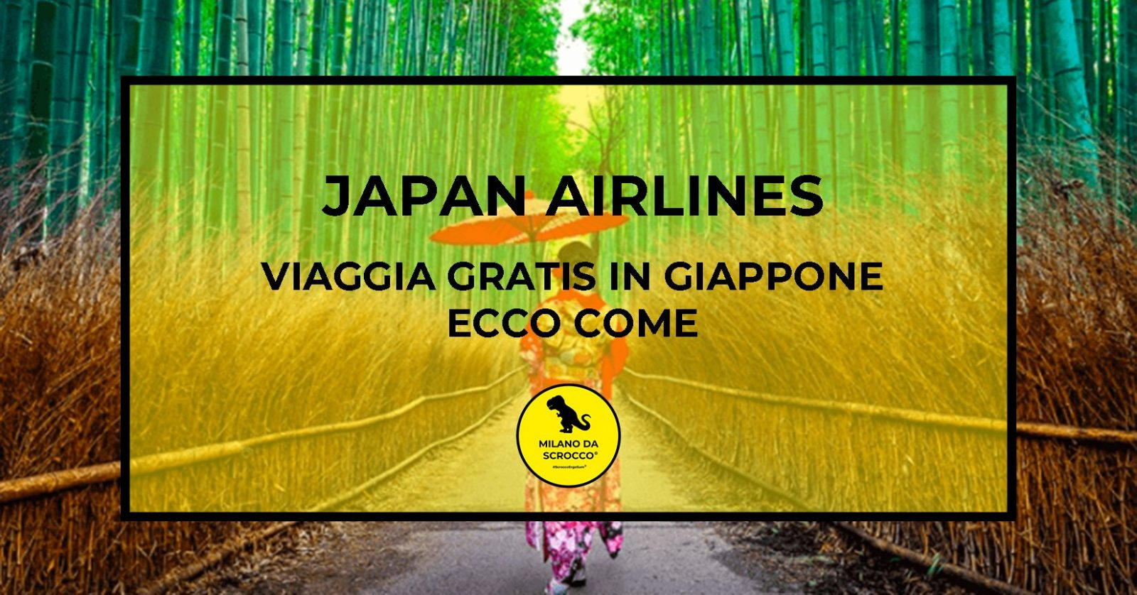 You are currently viewing Japan Airlines, viaggia gratis in Giappone: ecco come