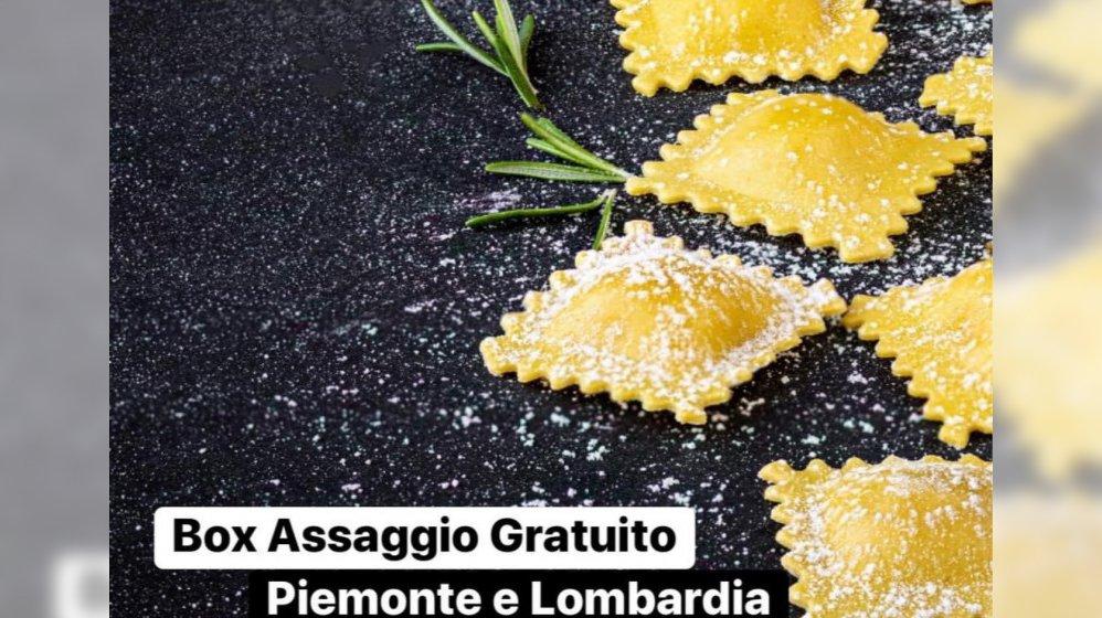 BOX ASSAGGIO GRATUITO | Piemonte e Lombardia