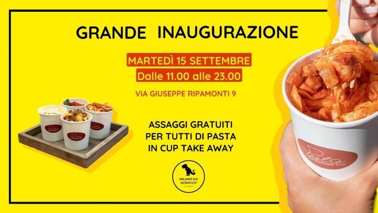 Pastrò: la pasta take away inaugura a Milano