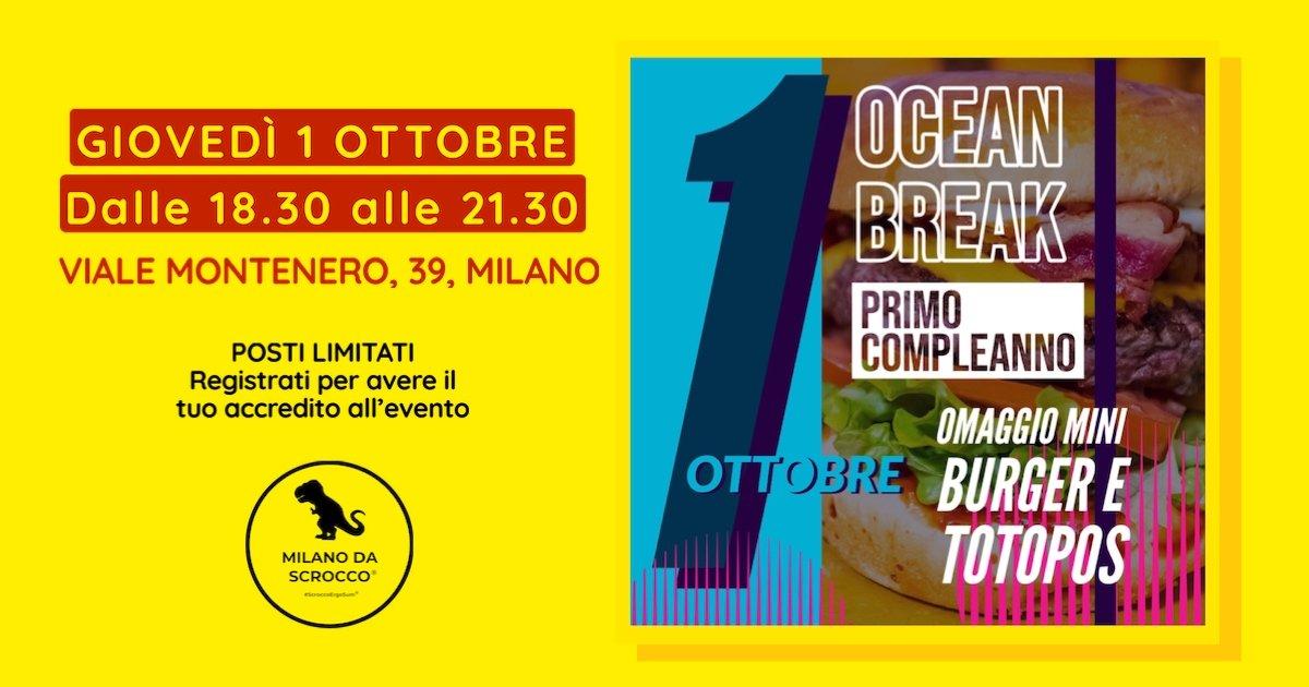 OCEAN BREAK COMPIE UN ANNO | Ocean Break x Milano da Scrocco