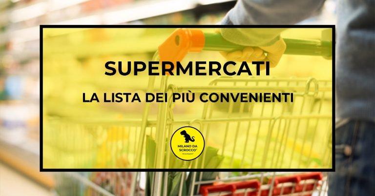 Supermercati: la classifica dei più convenienti