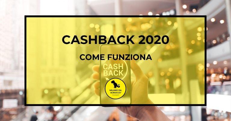 Cashback 2020: come funziona