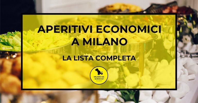 Aperitivi economici a Milano: la lista completa