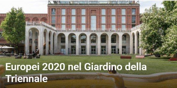 Read more about the article Europei 2020 nel Giardino della Triennale