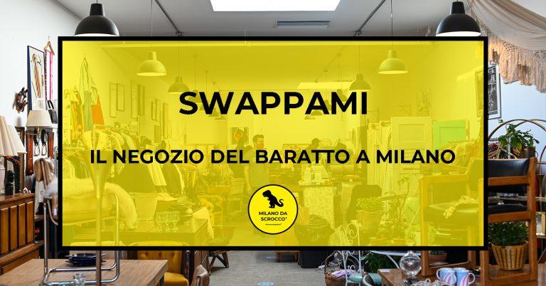 SwappaMi: il negozio del baratto a Milano