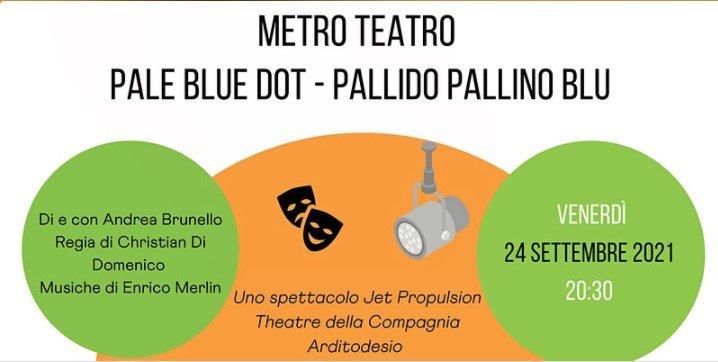 Read more about the article METRO TEATRO: Pale Blue Dot – pallido pallino blu