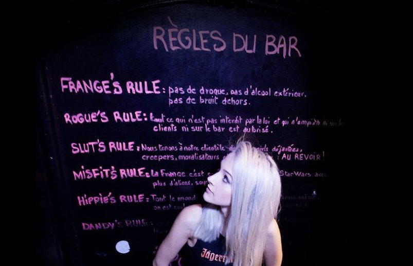 La Frange, locale economico a Parigi