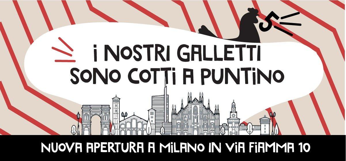 Read more about the article Rosita batte il 5! Nuova apertura a Milano