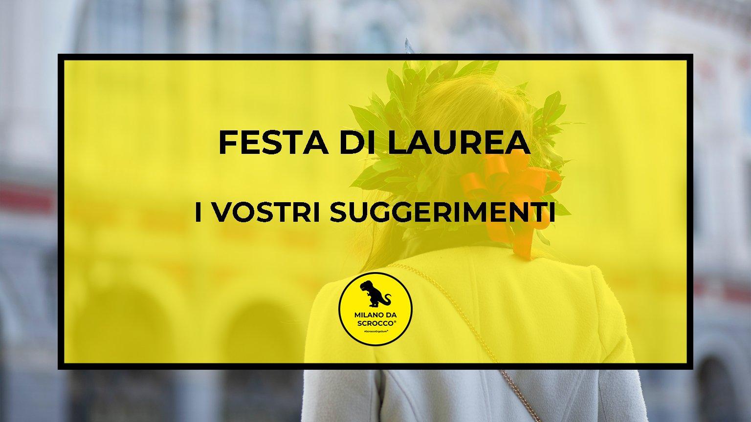 Read more about the article Festa di laurea: dove festeggiarla